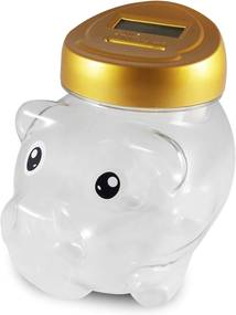 Cofre porquinho conta moeda cod 99495