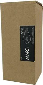 Lâmpada Edison Retrô Filamento de Carbono E27 A19 40W 2200K - Mart - 127V