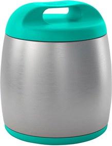 Pote Térmico Chicco Inox 350ml Azul (0m+)