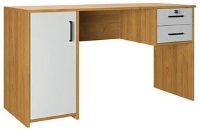 Escrivaninha Argos 2 Gavetas 1 Porta Office Finestra Móveis -
