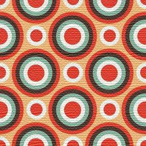 Adesivo para Azulejo Moderno Circular Vinil 15x15cm 16 peças Cosi Dimora