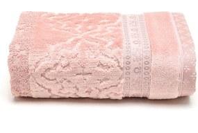 Toalha de Rosto Artex Le Bain Madras 50x80cm Rosa