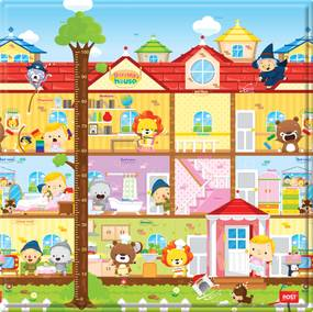 Tapete para Crianças Play Mat Pequeno - Dorothy's House - Safety 1st
