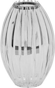 castiçal MARIA CLARA vidro transparente 27cm Ilunato SD0054