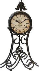 Relógio de Mesa com Pêndulo Vintage