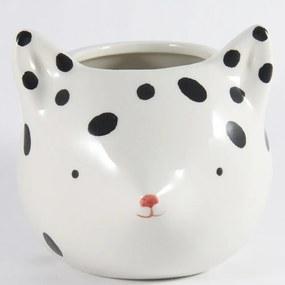Cachepot de Cerâmica Vaso Decorativo Fox With Dots Urban