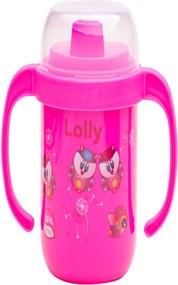 Copo Antivazamento Zoo Lolly Baby Rosa