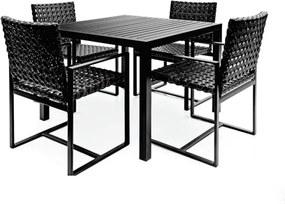 Conjunto Mesa e 4 Cadeiras Marrocos Diva - Área Externa