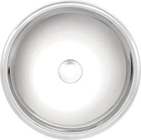 Lavabo Redonda em aço inox alto brilho Ø38 cm Tramontina 94106207