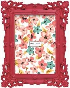 Porta Retrato Mart  Lady Vermelho 13x18cm  2938