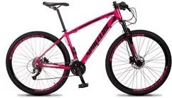 Bicicleta MTB Aro 29 Quadro 21 Alumínio 27 Marchas Freio Hidráulico Ve