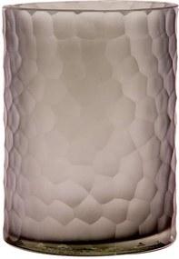 Vaso de Vidro Decorativo Charmey G - Light Grey