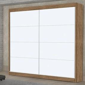 Guarda-Roupa Harmonia (L: 183cm) C/ 2 Portas de Correr 100% MDF Branco