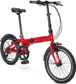 Bicicleta Dobrável Bay Pro Vermelho - Durban