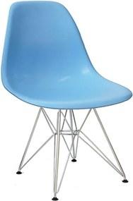 Cadeira em Polipropileno Azul