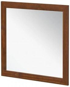 Moldura com Espelho Esmeralda - Cor Imbuia