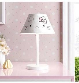 Abajur Infantil Hello Kitty Branco Bivolt Grão de
