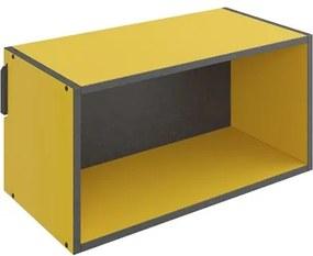 Nicho de Parede Decorativo Mov 1003 Amarelo - BE Mobiliário