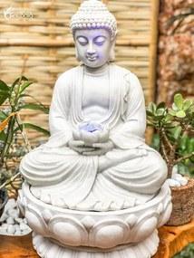 Fonte de Buda em Marmorite 50cm