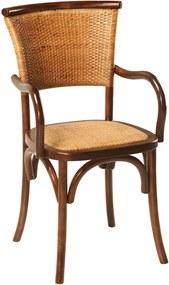 Cadeira Com Braço Paris Rattan