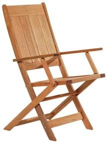 Cadeira Dobrável Acqualung C/ Braço - Wood Prime MR 248112