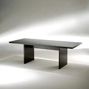 Mesa de Jantar Bonte Madeira Ebanizada Studio Mais Design by Cini Boeri