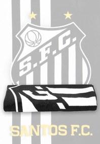 Toalha de Banho Buettner Veludo Santos Preta