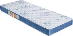 Colchão De Solteiro Nobreza D26 188X88X12 Branco C/Azul Celiflex