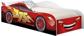 Cama Carro Infantil Corrida Vermelho - Cambel Móveis