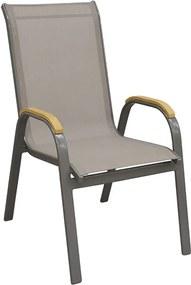 Cadeira Mayre em Alumínio C/Tela Mesh