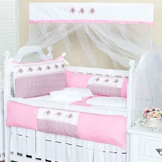 MUNDO DO ENXOVAL e Talismã Confecções têxteis infantis  ce70607c420