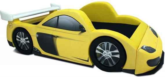 e322479a5c Cama Carro camas de conto de fadas na cor amarela