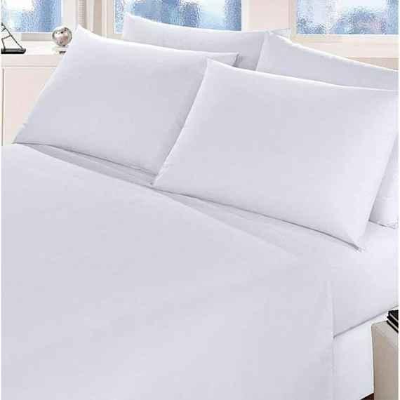 df4a2d273f Lençol Branco Avulso Solteiro com Elástico (88x188cm) - Cyrstal