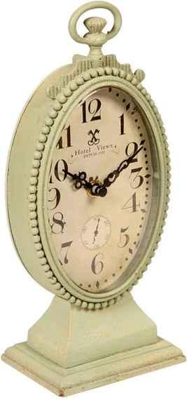 e2594f475c2 Relógio de Mesa Decorativo Lumiére de Metal