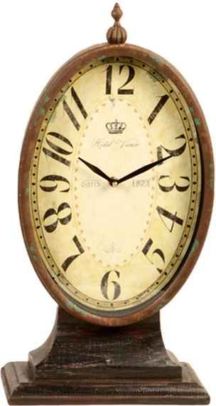 40b1bdb8aaa Relógio de Mesa Decorativo Retrô de Metal