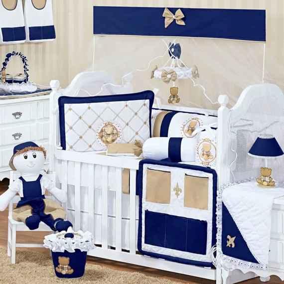 Luxuosa Talismã Confecções roupa de Cama Infantil azul  49c75aa9454