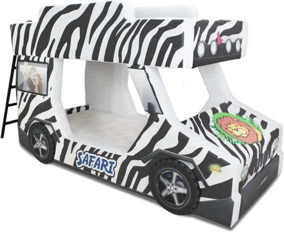 ab8b4225bd Beliche Adventure - Cama Carro Preto Branco