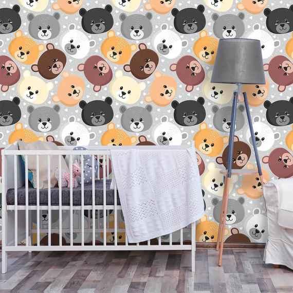f6651ee0d2 QCola decorações para Quarto Infantil